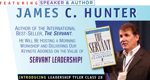 Featuring Speaker & Author James C Hunter